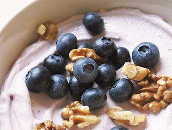 Blueberry Walnut Parfait