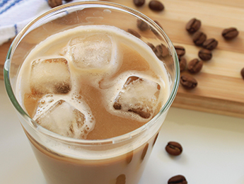 Vanilla Oat Iced Coffee