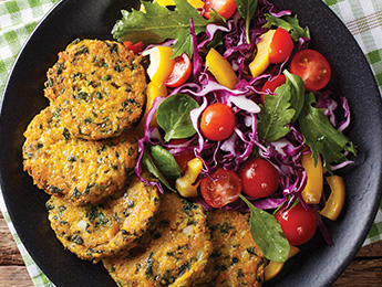 Zesty Quinoa Patties