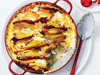 Scandinavian Potato Celery Root Gratin