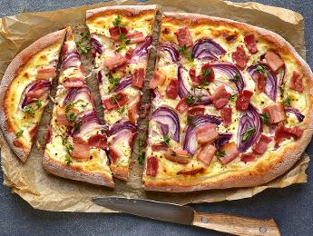 Bacon & Red Onion Flatbread