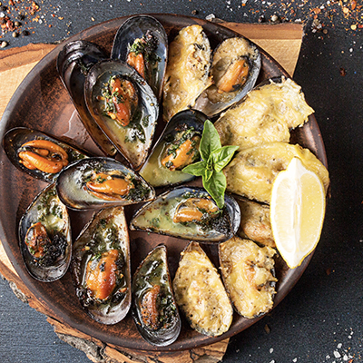 Spicy Mussels