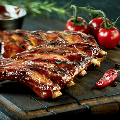 Country Ribs with Tennessee Whiskey Sauce