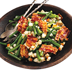 Apple Bacon Green Beans