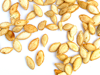 Parmesan Garlic Pumpkin Seeds
