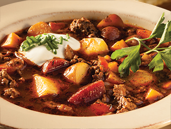 Slow Cooker Little Potato & Root Vegetable Borscht