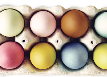 All-Natural Egg Dyes