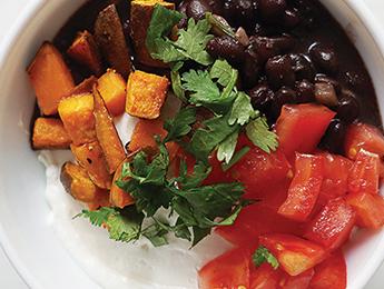 Sweet Potato & Black Bean Bowl
