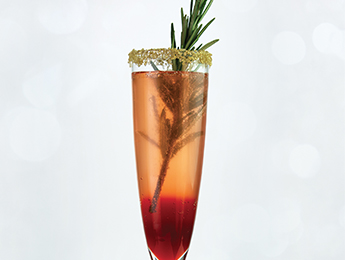 Blood Orange Ombré Cocktail