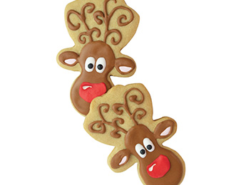 Brown Sugar Reindeer Cookies