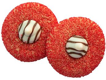 Mistletoe Kiss Cookies