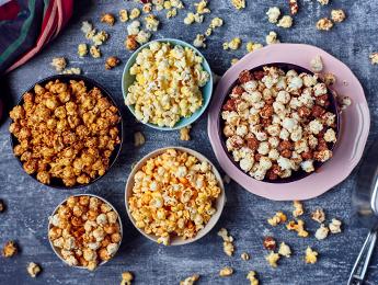 Garlic Parmesan Popcorn Topping