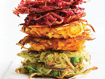 Zucchini & Pea Potato Pancakes
