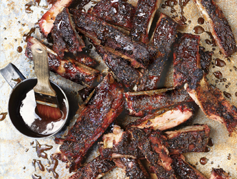 Apple Whiskey Baby Back Ribs