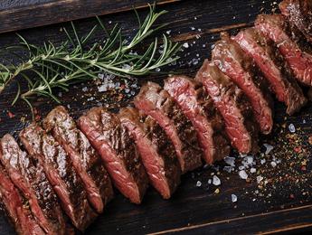 Flat Iron Skillet Steak