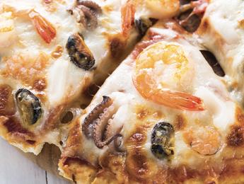 Shrimp & Clam Pizza