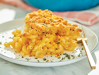 Healthier Mac & Cheese