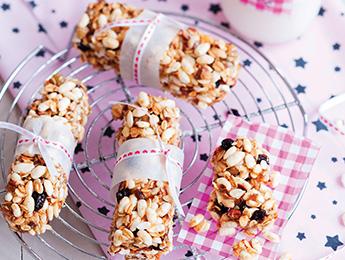Honey Almond Cereal Bars