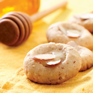 Almond & Honey-Butter Cookies