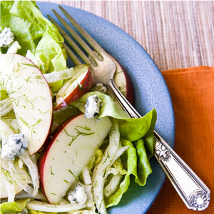 Apple & Fennel Salad with Blue Cheese